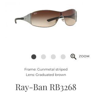 Ray Ban RB3268 aviator unisex glasses